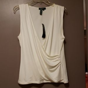NWT Ralph Lauren sleeveless top